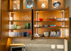We added Hafele Loox lighting to every cabinet, cupboard, and drawer.